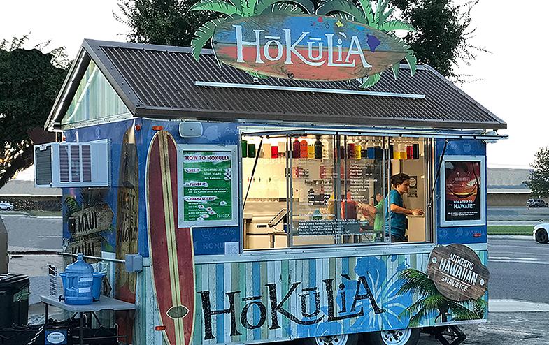 Hawaiian shaved ice franchises